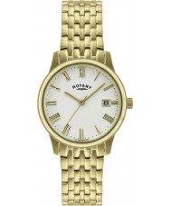 Rotary GB00794-32 Mens Ultra Slim Gold Plated Watch