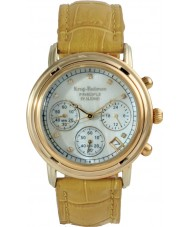 Krug Baümen 150574DL Ladies Principle Diamond Chronograph Watch