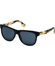 Diesel DL0076 Black Print Sunglasses