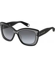 Marc Jacobs Ladies MJ 429-S 35N HD Black Sunglasses