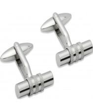 Unique QC-100 Mens Stainless Steel Cufflinks