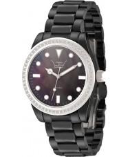 LTD Watch LTD-030623 Ladies Ceramic Black Bracelet Watch