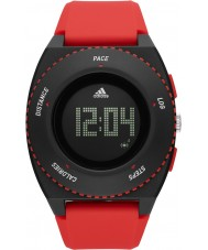 Adidas Performance ADP3219 Mens Sprung Red Silicone Strap Watch