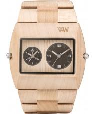 WeWOOD JUPBEIGERS Mens Jupiter Beige Wood Bracelet Watch