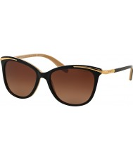 Ralph RA5203 54 Youth Black Nude 1090T5 Polarized Sunglasses