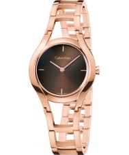 Calvin Klein K6R2362K Ladies Class Rose Gold Plated Bracelet Watch