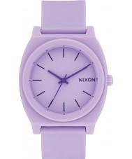 Nixon A119-2287 Time Teller Violet Rubber Strap Watch