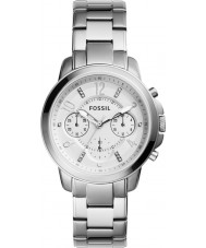 Fossil ES4036 Ladies Gwynn Silver Steel Chronograph Watch