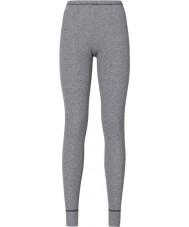 Odlo Ladies Grey Melang Baselayer Pants