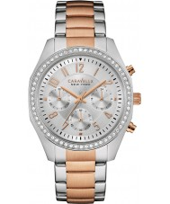Caravelle New York 45L148 Ladies Melissa Two Tone Chronograph Watch
