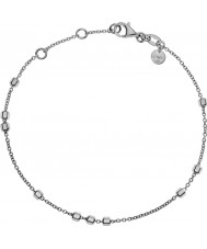 Emporio Armani EG3268040 Ladies Signature Finesse Sterling Silver Bracelet