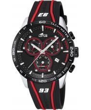 Lotus L18257-3 Mens Marc Marquez Black Rubber Chronograph Watch