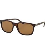 Ralph Lauren RL8142 56 Dark Havana 500383 Polarized Sunglasses