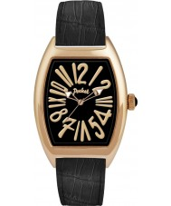 Pocket PK3016 Mens Tonneau Classique Grande Gold Black Watch