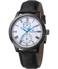 Thomas Earnshaw ES-8002-03 Mens Cornwall Black Leather Strap Watch