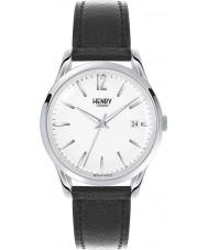 Henry London HL39-S-0017 Edgware Black Leather Strap Watch