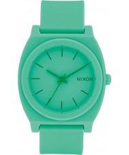 Nixon A119-2288 Time Teller Green Rubber Strap Watch
