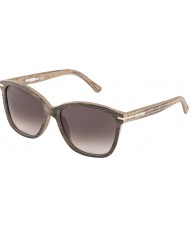 WeWOOD Phoebe Dark Oak J8497 Brown Gradient Sunglasses