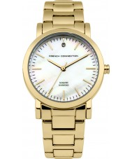 French Connection FC1250GM Ladies Gold Plated Bracelet Watch