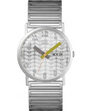 Orla Kiely OK4055 Ladies Madison Silver Steel Bracelet Watch