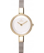 Obaku V129LEGIMC Ladies Silver Steel Mesh Bracelet Watch