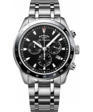 Rotary GB90169-04 Mens Timepieces Legacy Silver Chronograph Watch