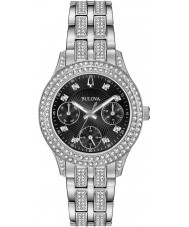 Bulova 96N110 Ladies Crystal Watch