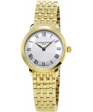 Frederique Constant FC-200MCS5B Ladies Slimline Gold Plated Bracelet Watch