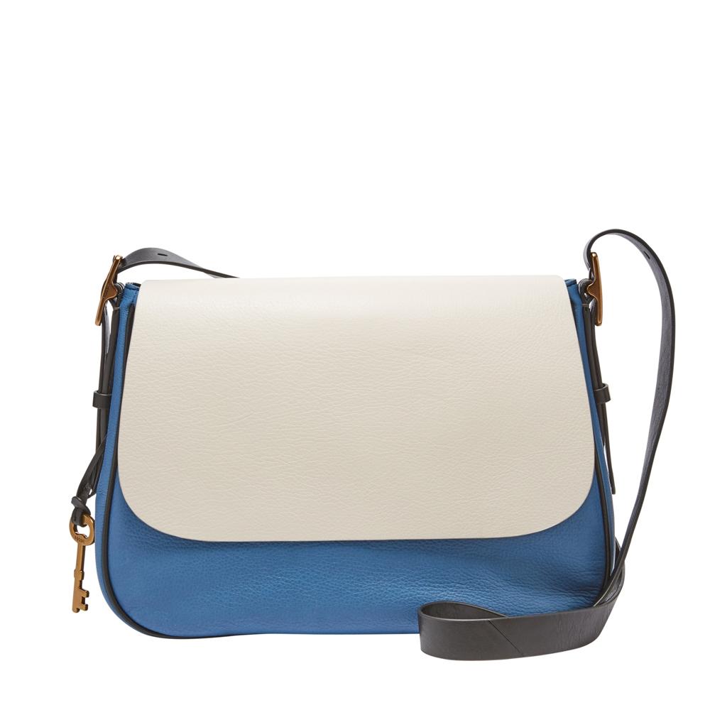 Fossil Bags Emma Tote Blue Print Zb7143484 Ladies Harper Crossbody Bag