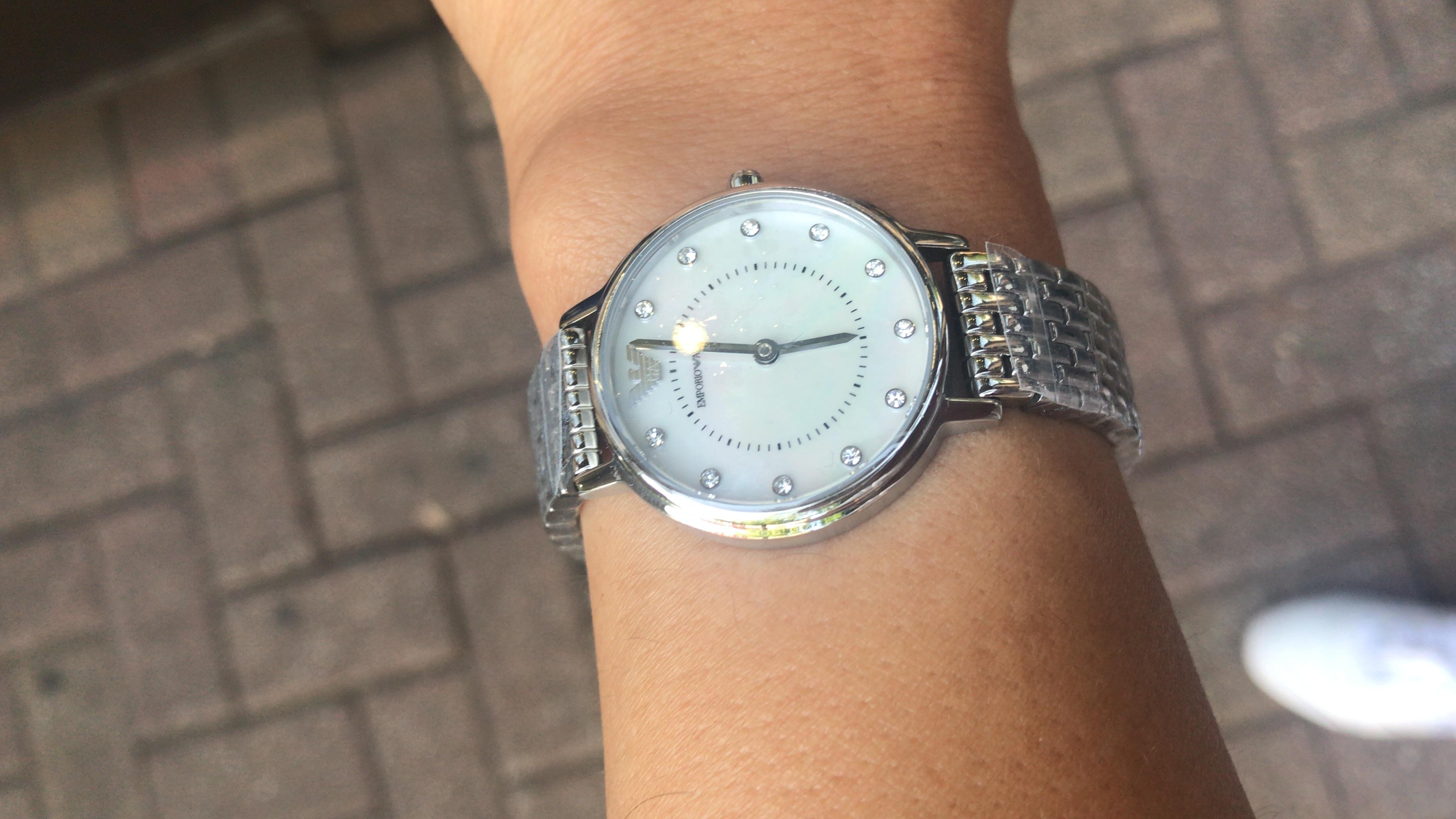 c080840d Silver Metal AR2511 Emporio Armani Watch | ChrisElli