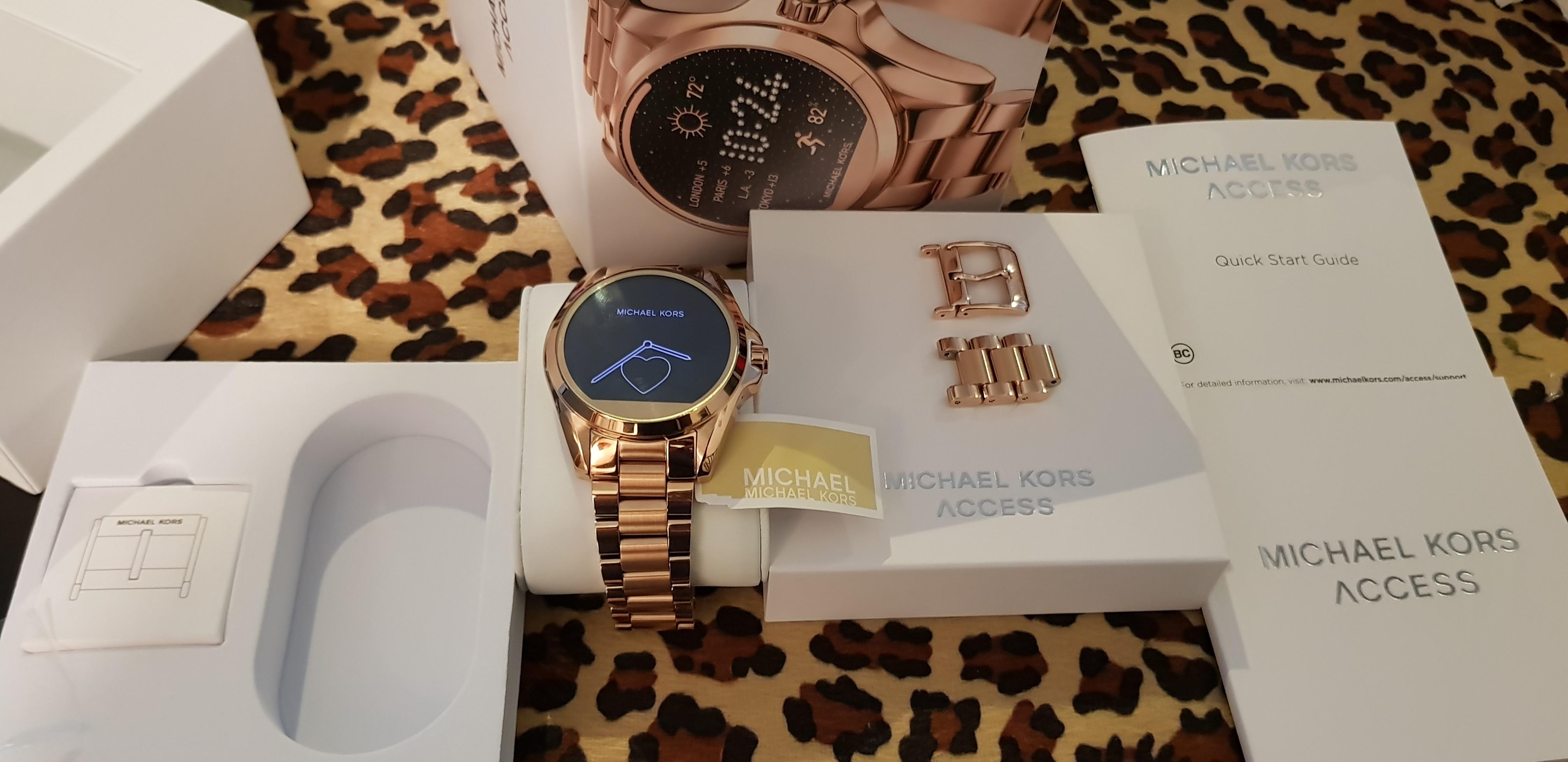 ecf40485a7ff MKT5004 Michael Kors Access Bradshaw Smartwatch