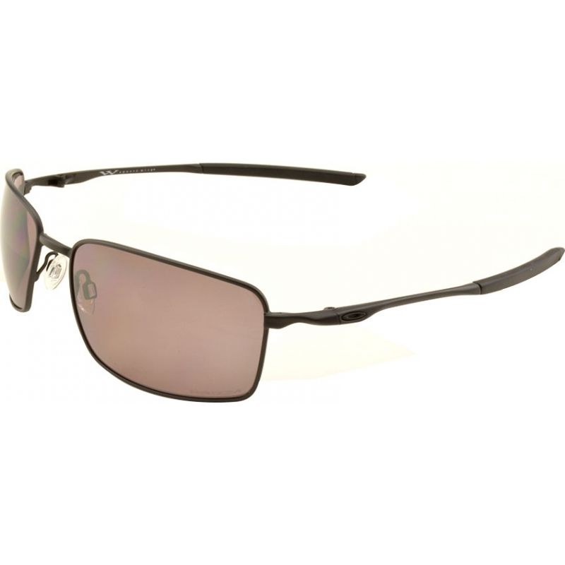 81850ad824 Oakley OO4075-09 OO4075-09 Square Wire Matte Black - Prizm Daily Polarized  Sunglasses