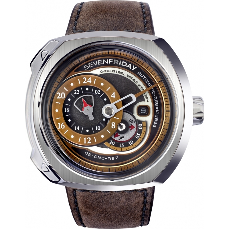 Sevenfriday watch q2 01 q series chriselli for Sevenfriday watches