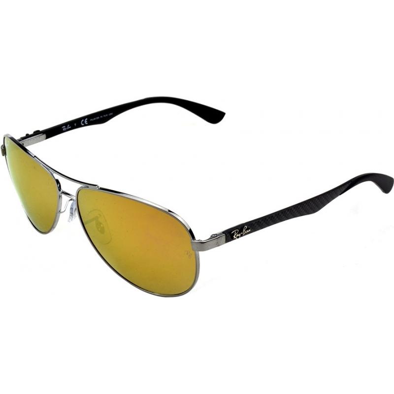 8c173999f RayBan RB8313-61-004-N3 óculos de sol Rb8313 61 tecnologia de fibra