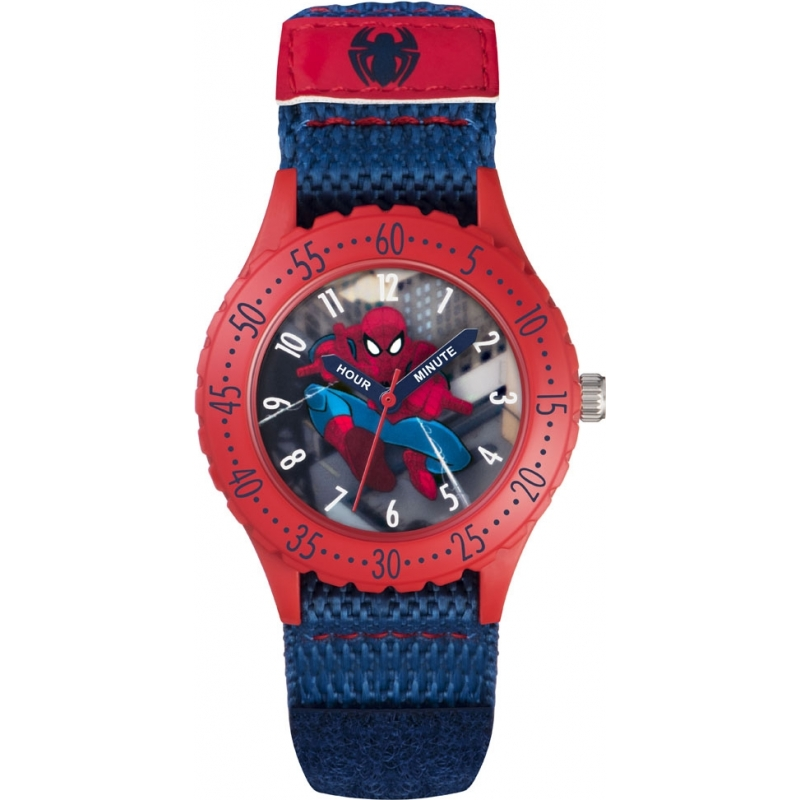 Disney watch spd3495 chriselli for Spiderman watches