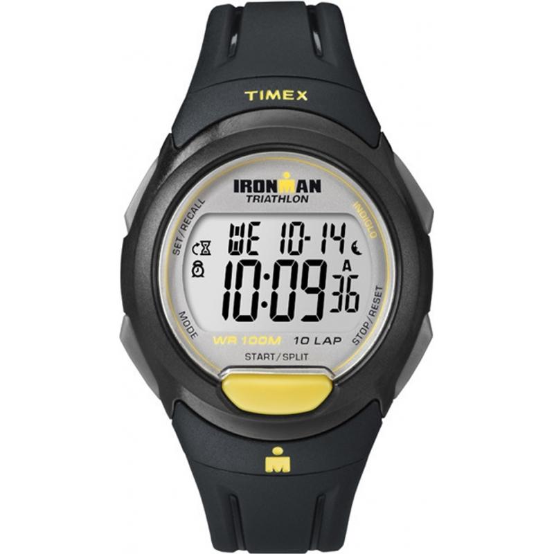 Timex ladies watch t5k779 chriselli for Black resin ladies watch