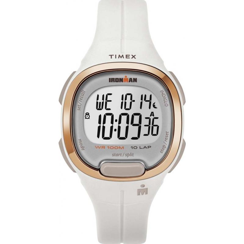 cf2f303e027e White TW5M19900 Timex Ironman Watch