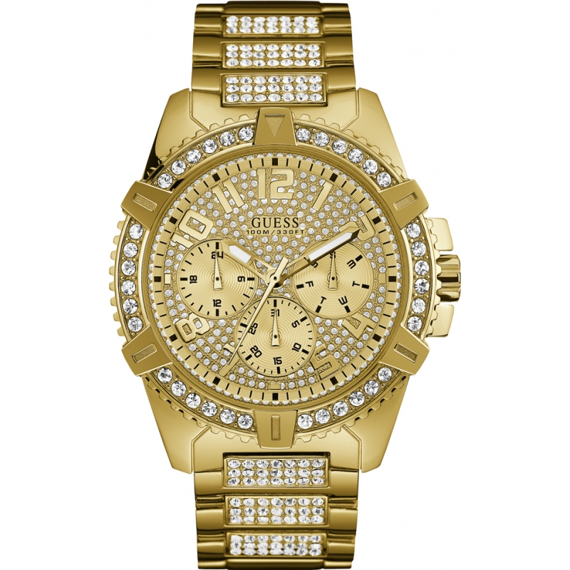 bf82b1b68c7c Guess W0799G2 Reloj de la frontera de los hombres