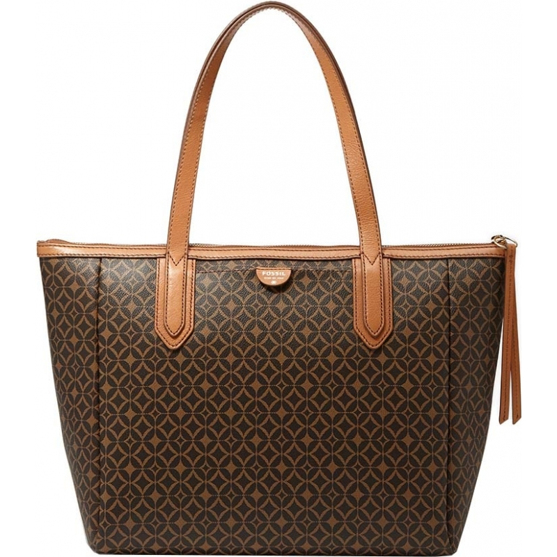 Fossil Zb5491249 Las Sydney Multi Brown Printed Pvc Per Bag